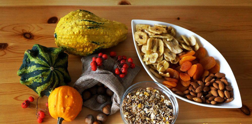 Antyoksydanty - dynia, orzechy, zboża, owoce