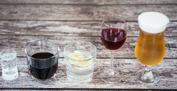 Zapobieganie ileczenie kaca - alkohole