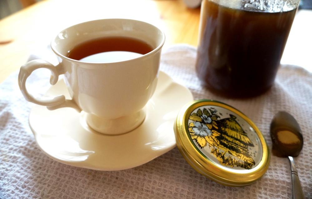 Herbata zdziurawca zmiodem